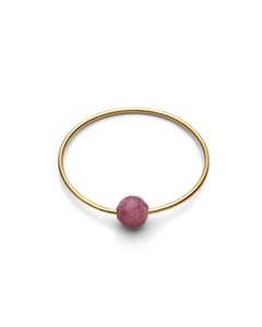Jukserei - BIRTHSTONE Ring - gold