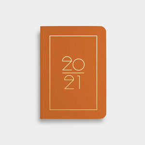Pocket Kalender 2021 (A6) - rust