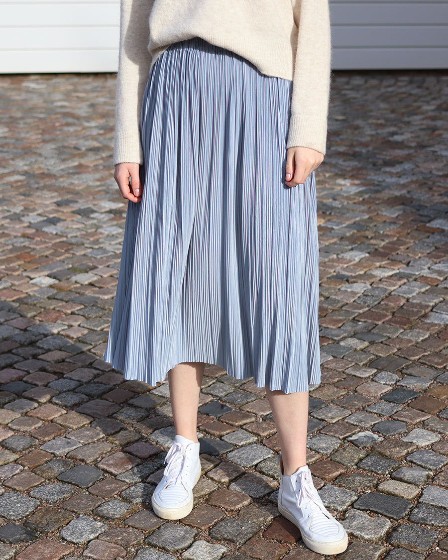 Samsøe Samsøe - UMA Skirt - dusty blue