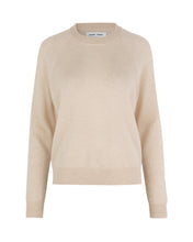 Laden Sie das Bild in den Galerie-Viewer, Samsøe Samsøe - Kaschmir-Pullover BOSTON O-NECK - whisper white oder powder pink melange