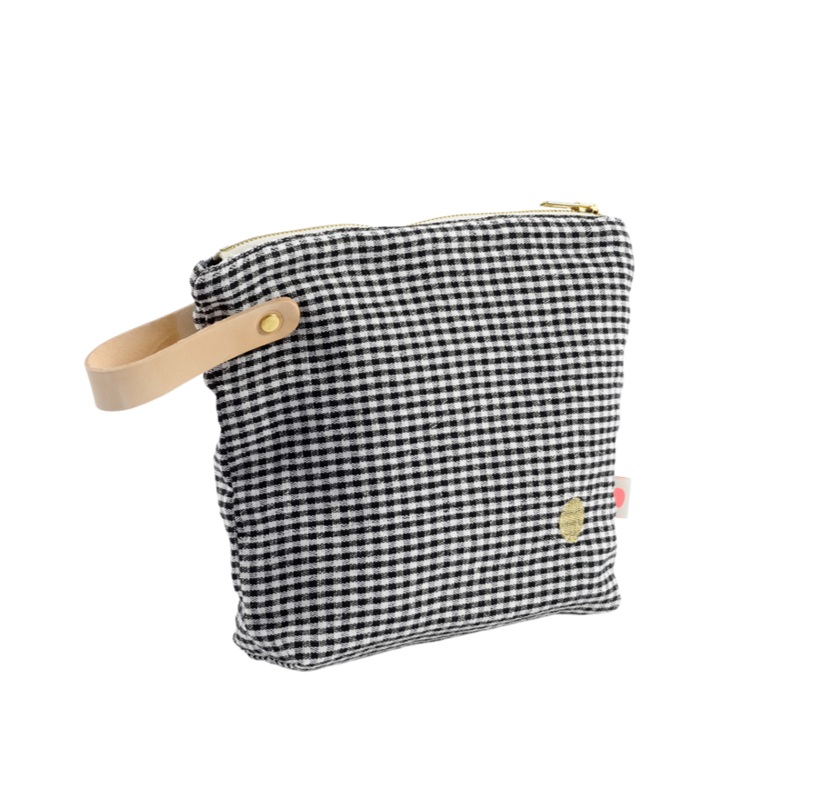Toiletry Bag Ernest Caviar PM (mittel)