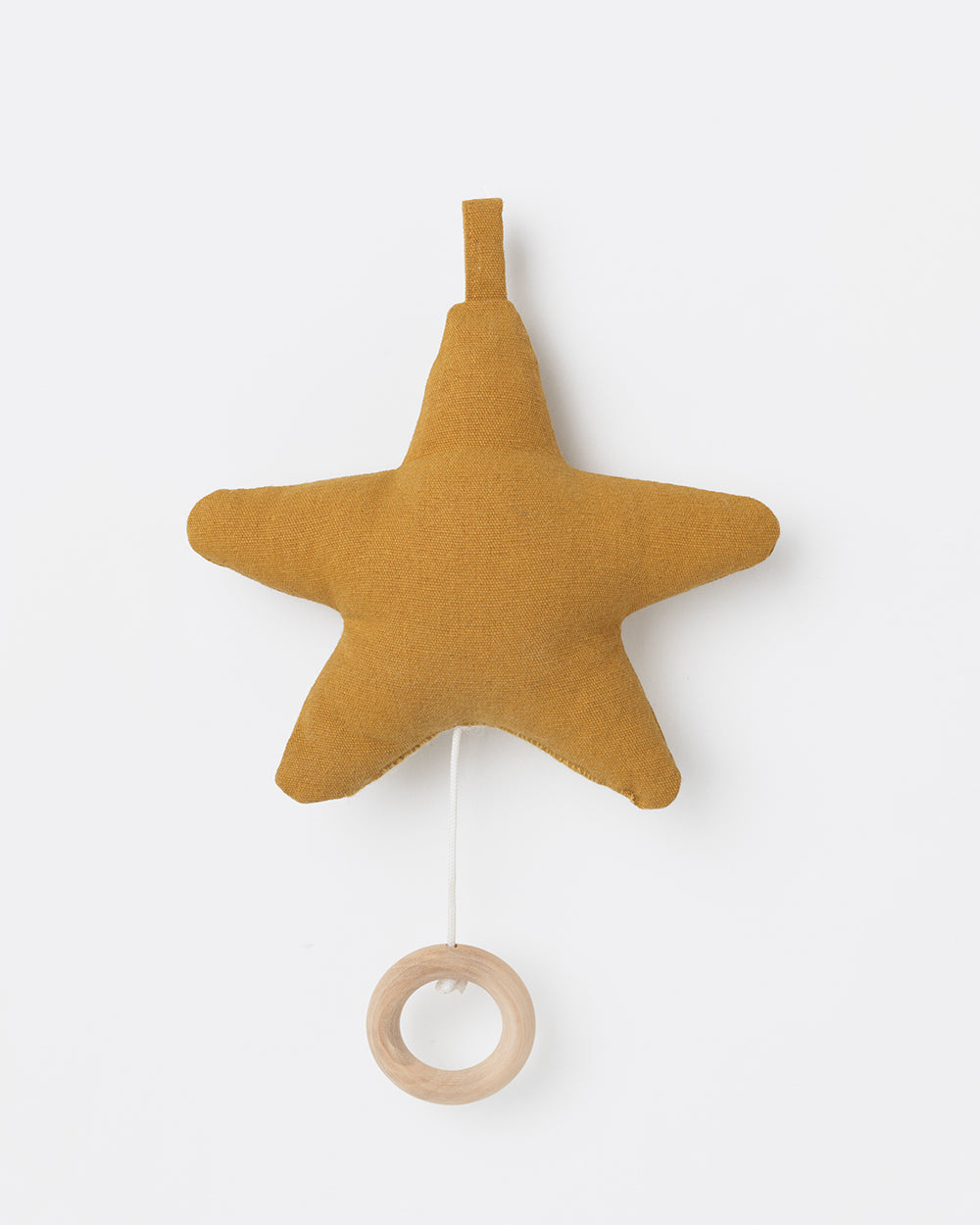 ferm LIVING - Spieluhr STAR MUSIC MOBILE - mustard