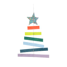 "Laden Sie das Bild in den Galerie-Viewer, meri meri ""Christmas Tree Rainbow Card"" mit Deko"