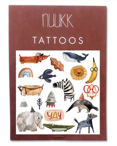 "nuukk - Tattoos ""Yay"""