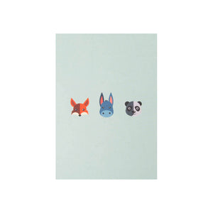 "POSTKARTE - ""Animals"""