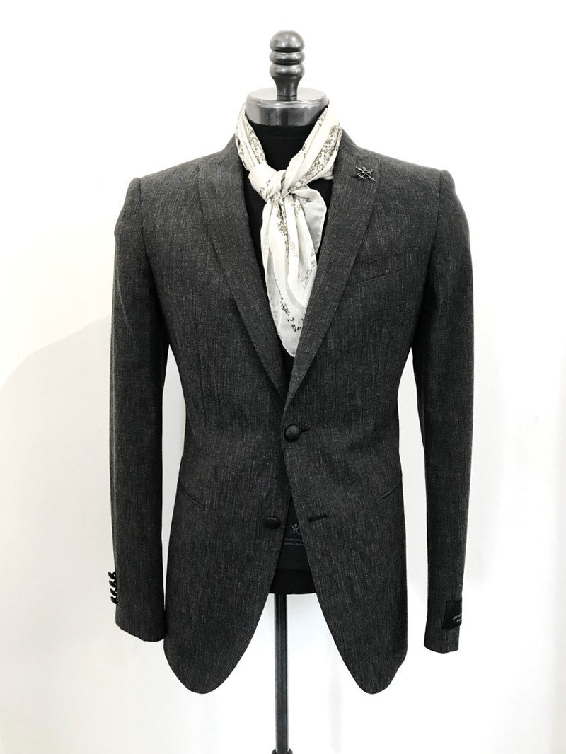 Soho Slim Fit Peak Lapel Tailored Jacket