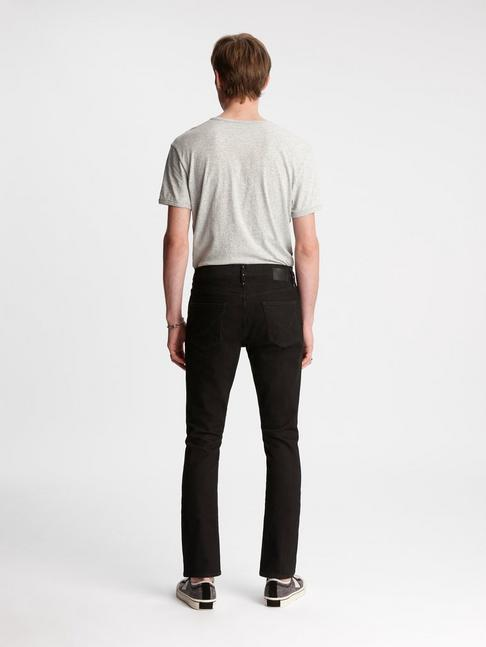 John Varvatos Bowery Slim-Straight Fit Jean with Stud Details