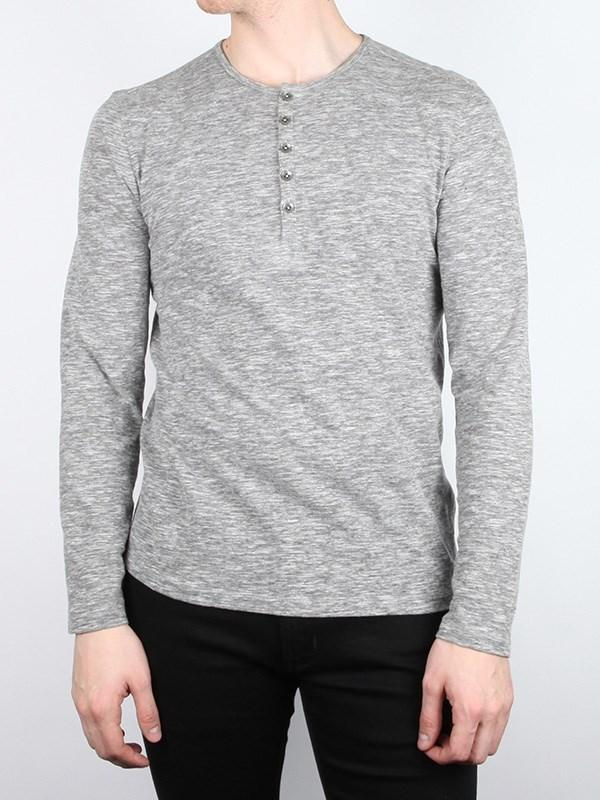 The Long Sleeve Knit Henley
