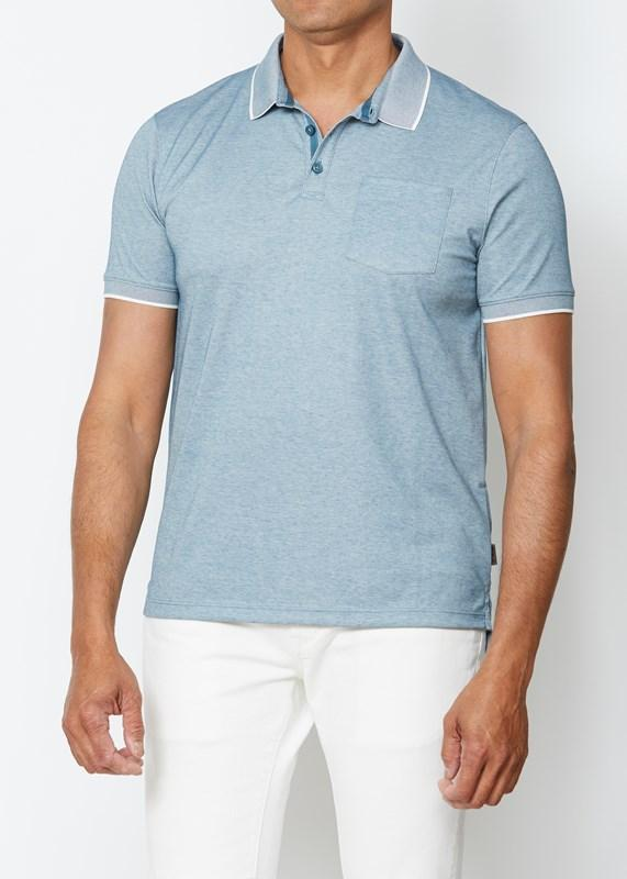 Cambridge Pique Pocket Polo