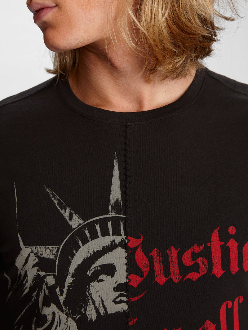 John Varvatos Liberty / Justice For All Graphic Tee