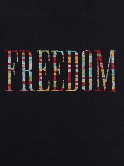 Freedom Embroidered Graphic Tee