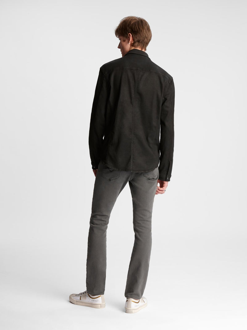 The Knit-Stretch Shirt Jacket