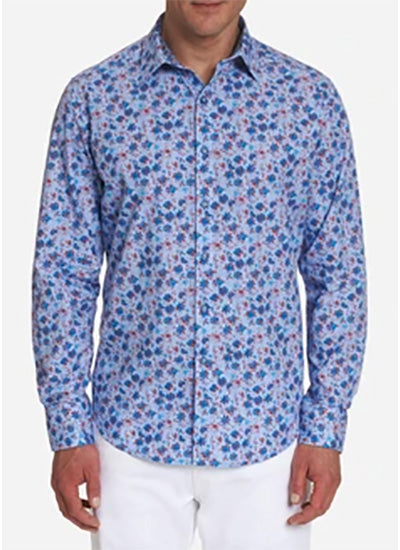 "Robert Graham ""Finish Line"" Shirt"