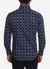 Robert Graham Garza Sport Shirt In Navy