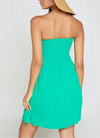 Paseo Mini Dress: Emerald
