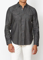 Clint Long Sleeve Western Shirt