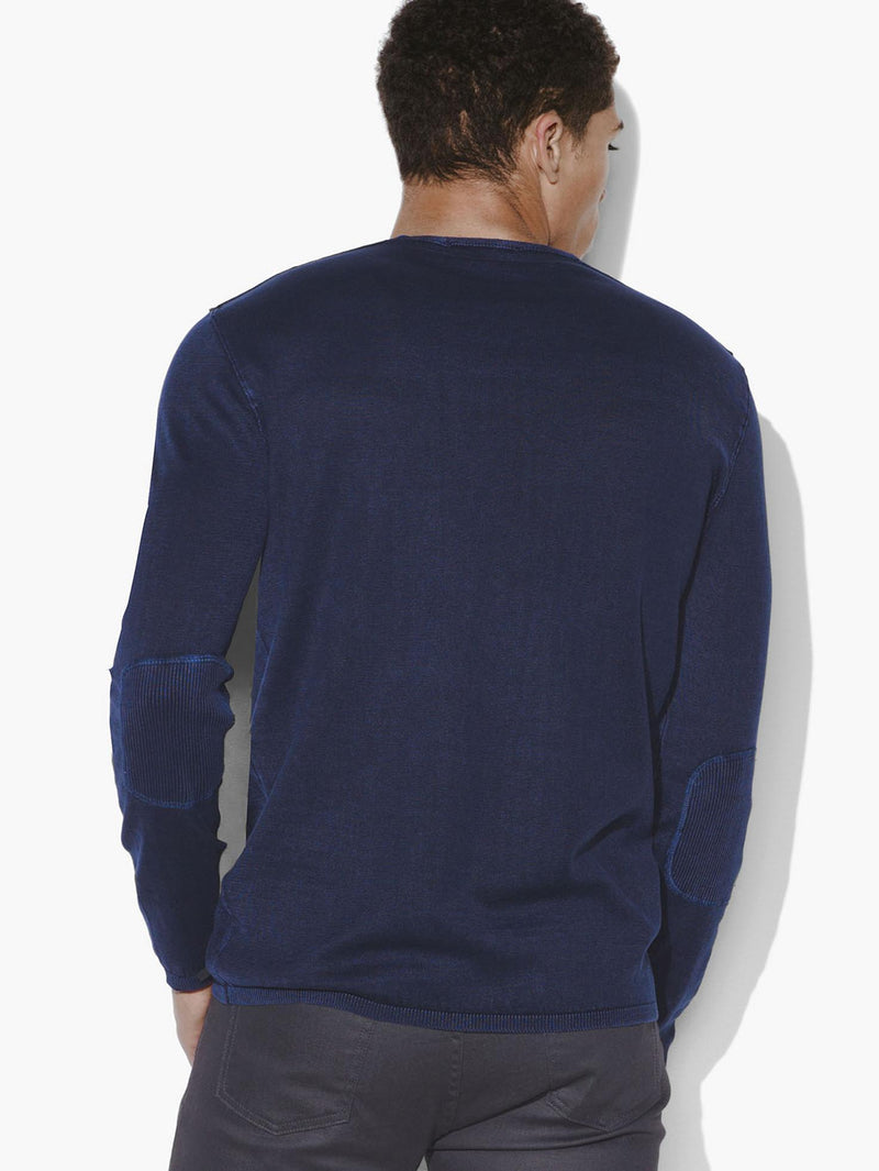 The Long Sleeve Acid Wash Crew Neck