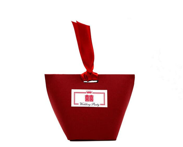Chinese Traditional Wedding Gift box with Ribbon - TC1 - Chinese Wedding