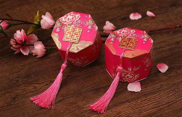 Chinese Wedding Gift Boxes (DIY) - Chinese Wedding