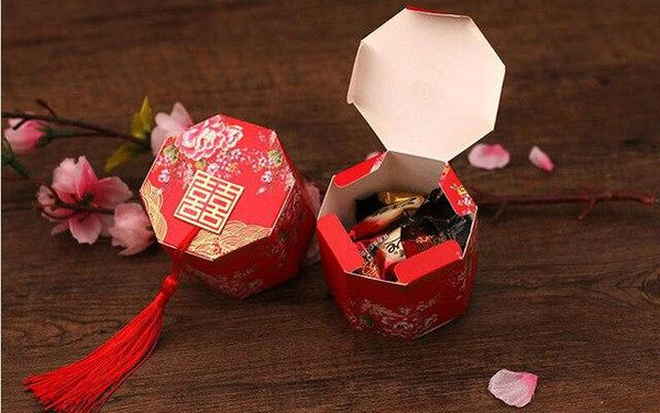 Chinese Wedding Gift Boxes (DIY).