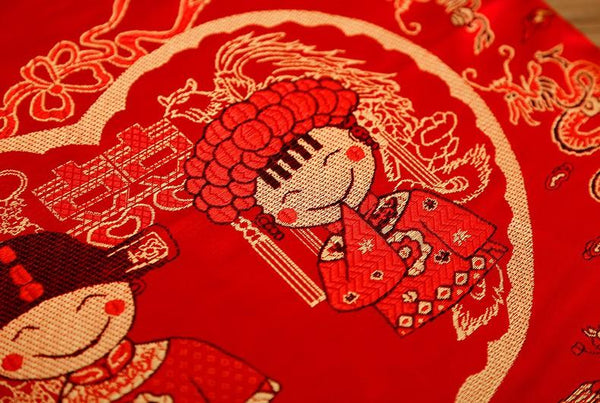 Chinese Wedding Kneel Cushion - L62912.