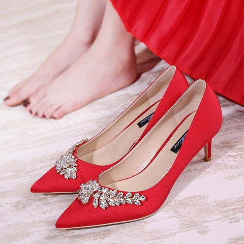 Chinese Wedding Shoes - 3983 - Chinese Wedding