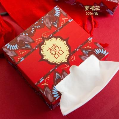 Chinese Wedding Super Soft Tissue Paper Napkin - Chinese Wedding