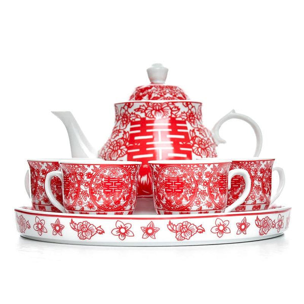 Chinese Wedding Tea Set.