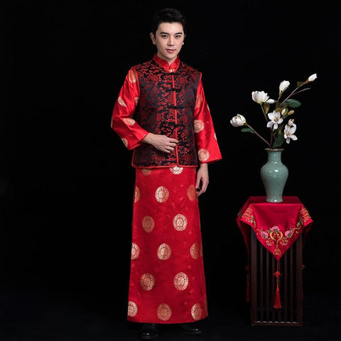 Groom Outfits - A273 - Chinese Wedding