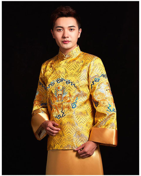 Groom Outfits - XH0429 - Chinese Wedding