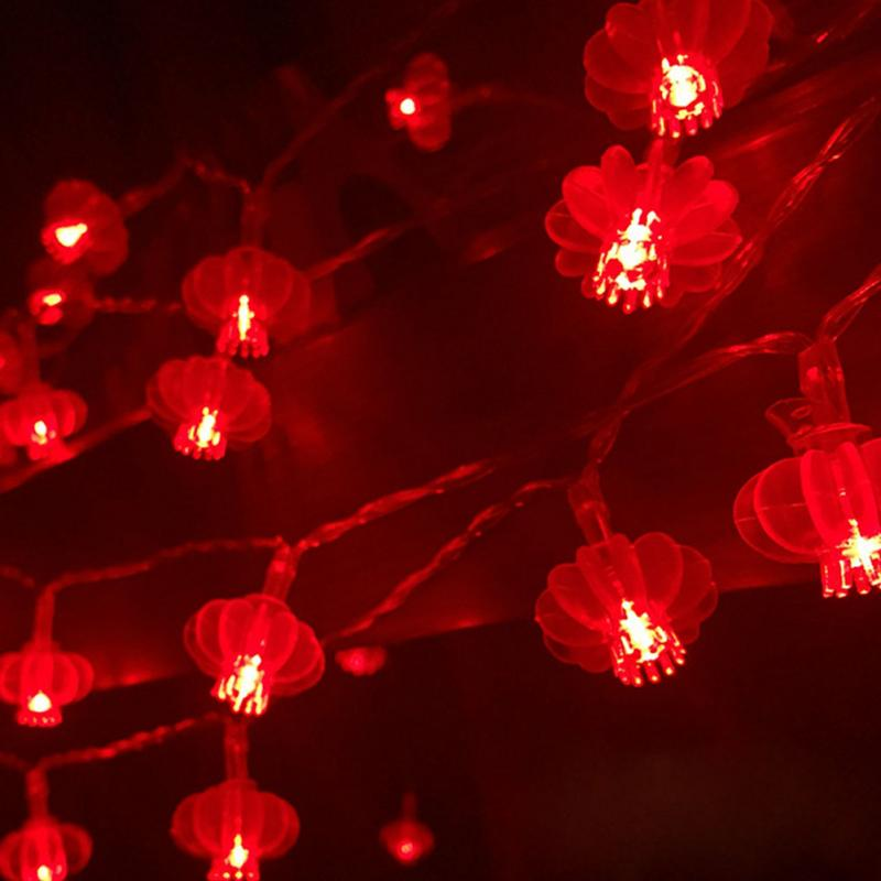 Traditional Red Lantern USB LED Light for Chinese Wedding Decorations - Chinese Wedding