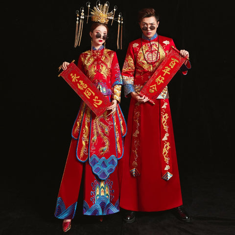 Qun Kua / Groom Outfits - KM5227