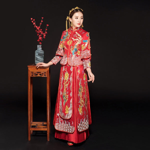 Qun Kua - XH0429QK - Chinese Wedding