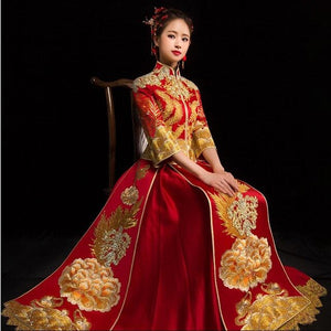 Royal Qun Kua - XH0229 - Chinese Wedding