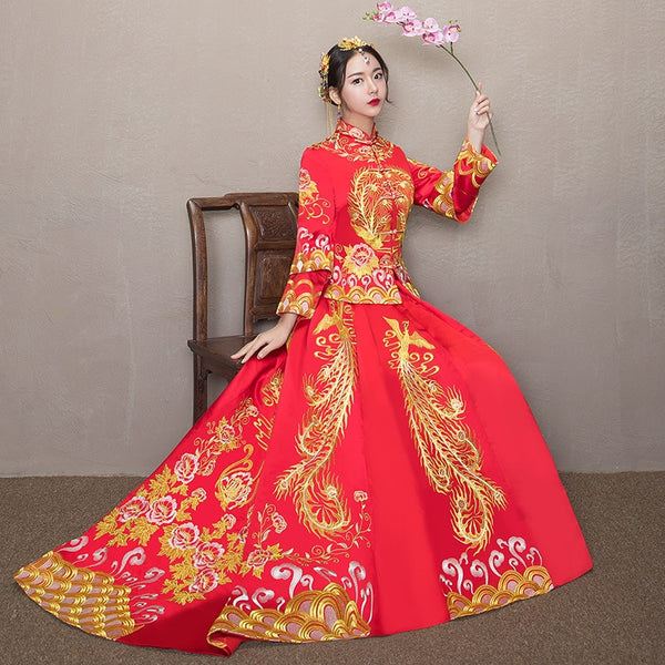 Qun Kua - XH1208 - Chinese Wedding