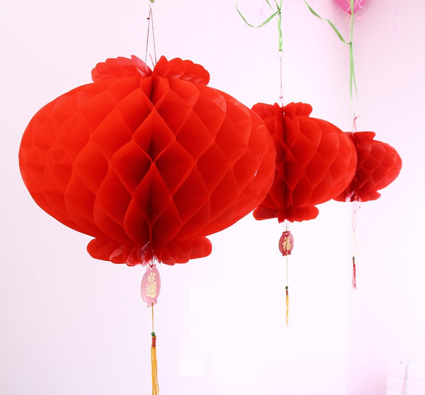 50 Pieces 6 Inch Traditional Chinese Red Lantern for Chinese Wedding - Chinese Wedding