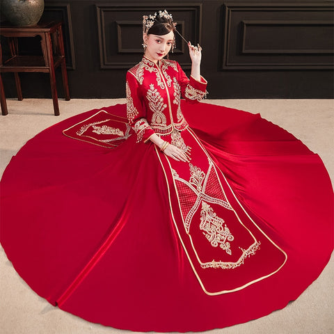 Qun Kua - XYR900 - Chinese Wedding