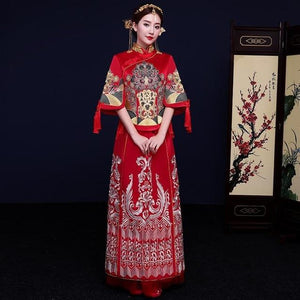Qun Kua - DDP XH36 - Chinese Wedding