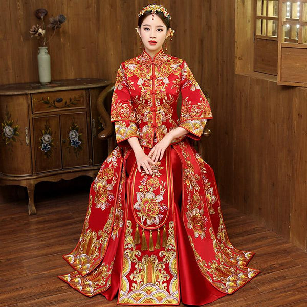 Qun Kua - L01382-KD - Chinese Wedding
