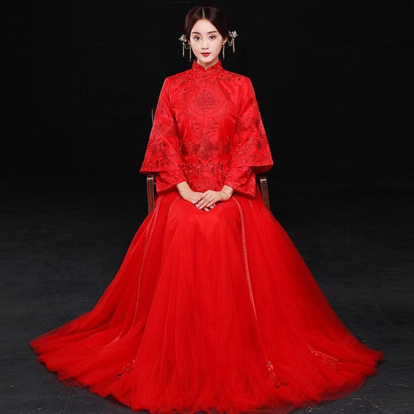 Qun Kua - L01388 KD - Chinese Wedding