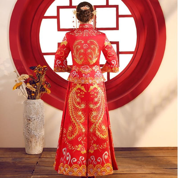 Qun Kua - L01397-KD - Chinese Wedding