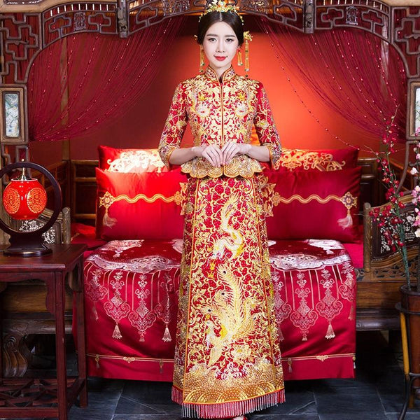Qun Kua - L01435-QS - Chinese Wedding