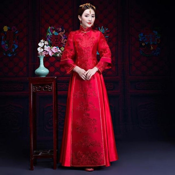 Qun Kua - L1058 - Chinese Wedding