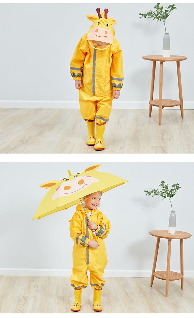 Cute Animal Waterproof Baby Jumpsuits