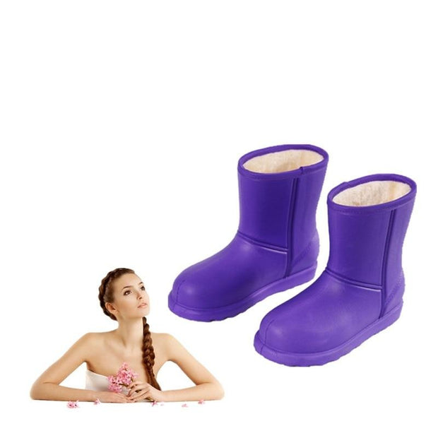Waterproof Plus Size Flat Warm Snow Boots