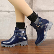 Ankle Rain Boots Winter Warm Shoes