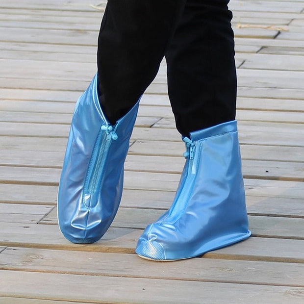Waterproof Protector Zipper Rain Shoe Covers