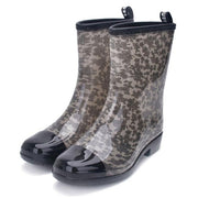 Mixed Colors Ladies Waterproof Rubber Boots