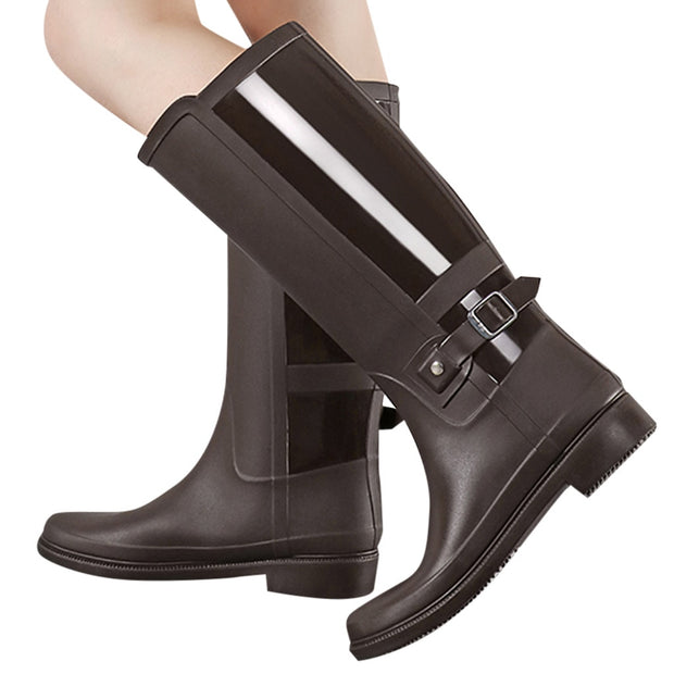 Non-Slip Waterproof Women Long Boots