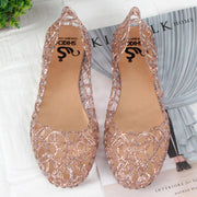 Jelly Shoes Comfortable Flat Summer Sandals